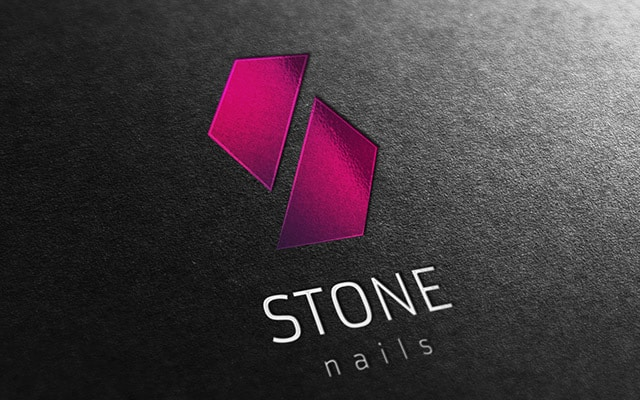Logotipos originais - Stone Nails